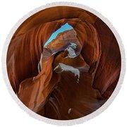Antelope Canyon 16 Round Beach Towel