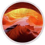 Antelope Canyon - 2017 Round Beach Towel