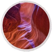 Antelope Canyon Beauty Round Beach Towel