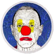 Anthony Hopkins Round Beach Towel