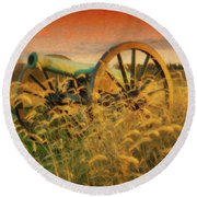 Antietam Battlefield - Dwp140321 Round Beach Towel