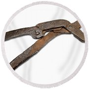 Antique Adjustable Plier Round Beach Towel