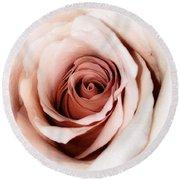 Antique Rose Round Beach Towel