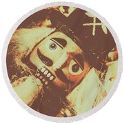 Antiques Of Play Round Beach Towel