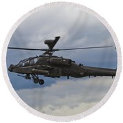Apache Power Round Beach Towel