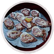 Apalachicola Fresh Round Beach Towel