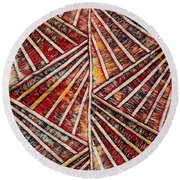 Apartment 12b Round Beach Towel