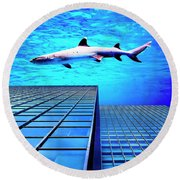 Apex Predator Round Beach Towel