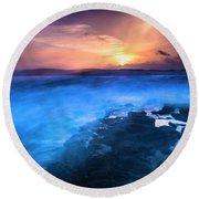 Round Beach Towel featuring the photograph Apocalypse by Edgar Laureano