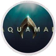 Aquaman Round Beach Towel