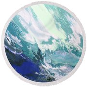 Aquaria Round Beach Towel