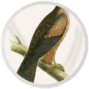Arabian Kite Round Beach Towel by English School