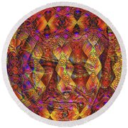 Arabian Nights Dream Round Beach Towel