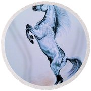 Arabian Spirit Of The South Round Beach Towel by Cheryl Poland