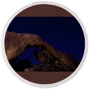 Arch Rock 2 Round Beach Towel