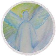 Archangel 1 Round Beach Towel