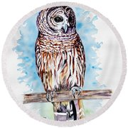 Archie Round Beach Towel
