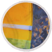 Archway Wall Round Beach Towel