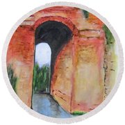 Arco Felice, Revisited Round Beach Towel