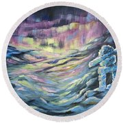 Arctic Experience Round Beach Towel