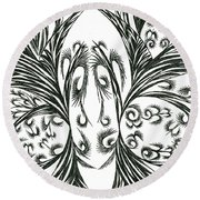 Argos Round Beach Towel by Robert Nickologianis