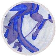 Aristolochia Round Beach Towel by Versel Reid