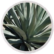 Arizona Agave Round Beach Towel