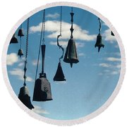 Round Beach Towel featuring the photograph Arizona Bells by Kenneth Campbell