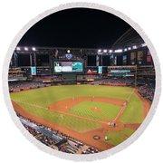 Arizona Diamondbacks Baseball 2591 Round Beach Towel
