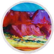 Arizona Round Beach Towel