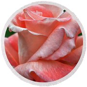 Arizona Territorial Rose Garden - Pink Bud Round Beach Towel