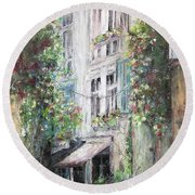 Arles Round Beach Towel by Robin Miller-Bookhout