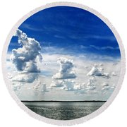 Armada Round Beach Towel