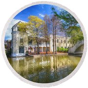 Armstrong Park, New Orleans, La Round Beach Towel