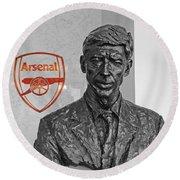 Arsene Wenger - Le Professeur Round Beach Towel
