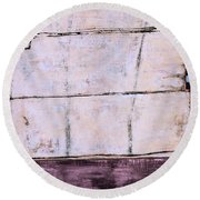 Art Print Abstract 100 Round Beach Towel