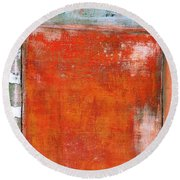 Art Print Abstract 8 Round Beach Towel