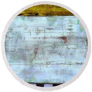 Art Print Highwire Round Beach Towel