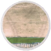 Art Print Nez Perce Round Beach Towel