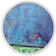 Art Print Sierra 14 Round Beach Towel