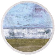 Art Print Sierra 2 Round Beach Towel