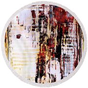 Art Print Sierra 9 Round Beach Towel
