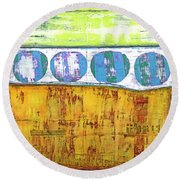 Art Print Venice Round Beach Towel
