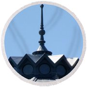 Arts And Industries 4 Round Beach Towel by Randall Weidner