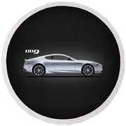 The Db9 Round Beach Towel