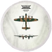 The Lancaster Round Beach Towel