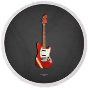 Fender Mustang 70 Round Beach Towel