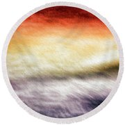 Round Beach Towel featuring the photograph Palette In The Sky by Bill Kesler