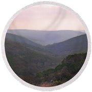 Rolling Hill Country Round Beach Towel