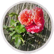 Floral Escape Round Beach Towel by Ivana Westin